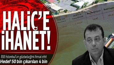 İSKİ, İstanbul'un gözbebeği Haliç'i ihmal etti: Hedef 50 bin ton çıkarılan 4 bin ton çamur!