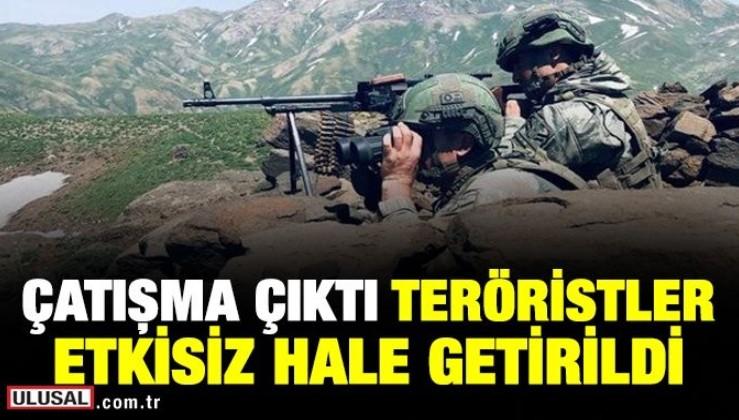 Pençe Harekatında teröristlerle çatışma: 4 PKK'lı terörist etkisiz hale getirildi