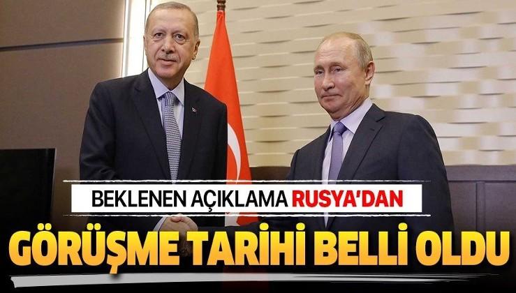 Rusya'dan son dakika açıklaması:Erdoğan - Putin görüşmesinin tarihi belli oldu.