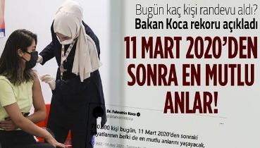SON DAKİKA: Bakan Fahrettin Koca açıkladı: