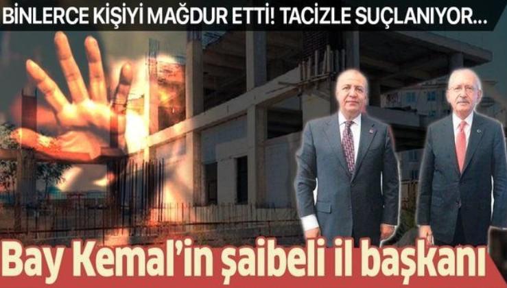 CHP'li Kemal Kılıçdaroğlu'nun şaibeli il başkanı: Veysi Uyanık