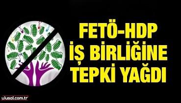 FETÖ-HDP iş birliğine tepki yağdı