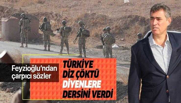 Metin Feyzioğlu'ndan Barış Pınarı Harekatı açıklaması: En güzel cevabı sahada verdik.