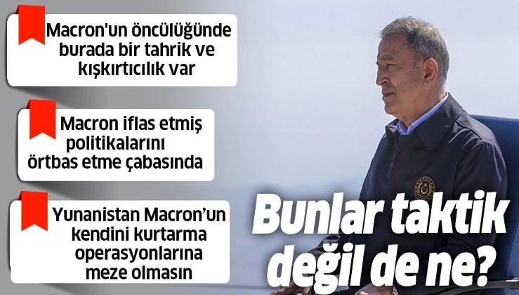 Son dakika: Milli Savunma Bakanı Hulusi Akar'dan Kaş'ta önemli açıklamalar