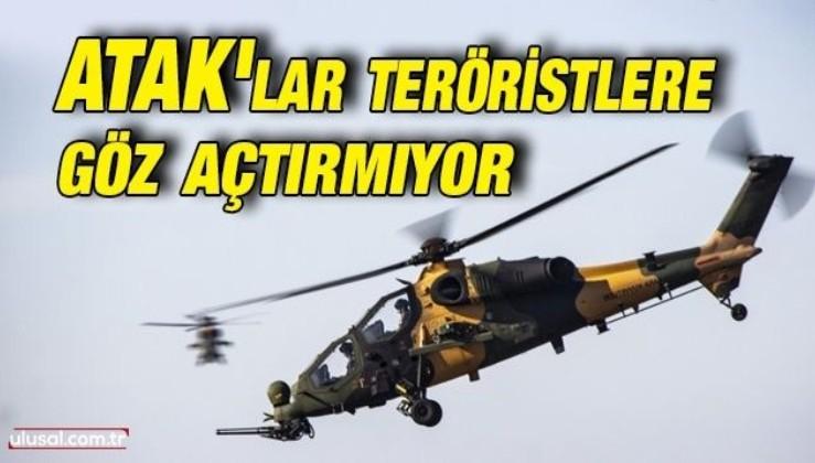 ATAK'lar teröristlere göz açtırmıyor: 4 terörist etkisiz hale getirildi