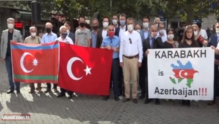İzmir'den Azerbaycan'a birlik mesajı