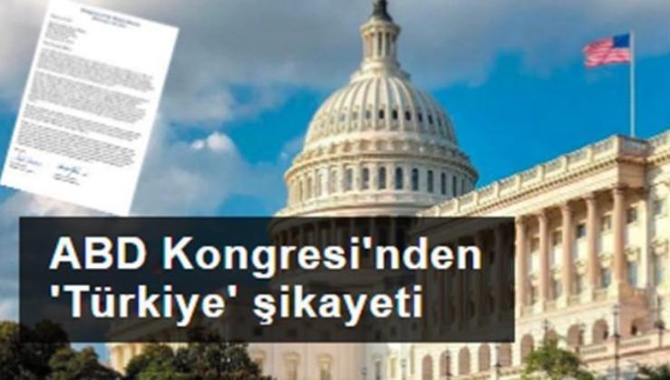 ABD Kongresi'nden 'Türkiye' şikayeti
