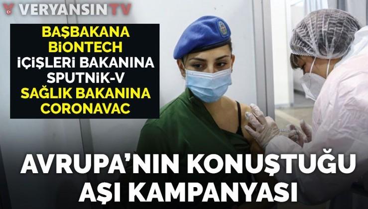 Avrupa'da Sırbistan'ın aşı kampanyası konuşuluyor