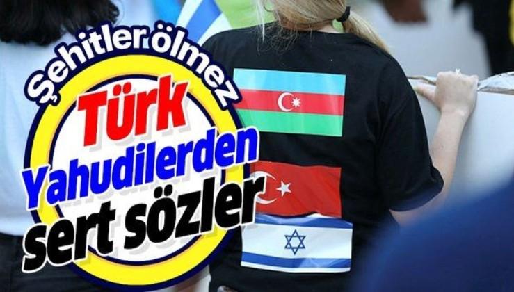 İsrail'deki Azerbaycanlı Yahudiler Ermenistan'ı lanetledi: Şehitler ölmez vatan bölünmez