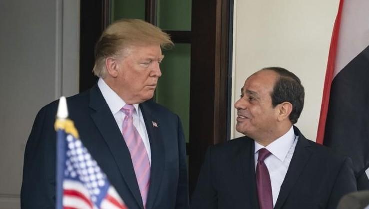 Trump ile Sisi telefonda görüştü, gündem: Libya!