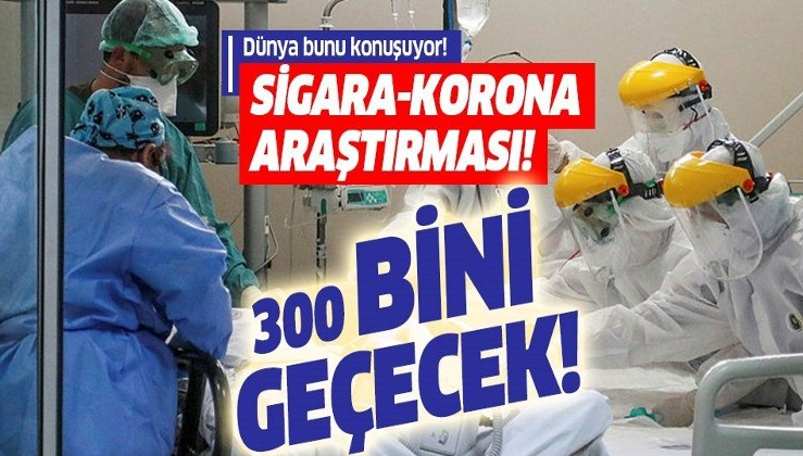 Son dakika: İngiltere'den dikkat çeken araştırma: Koronavirüsten sonra sigara içen 300 bini aşkın kişi...