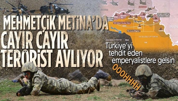 Son dakika: Metina'ya Kaplan Pençesi Harekatı! ATAK helikopterleri ve SİHA'lar destek veriyor