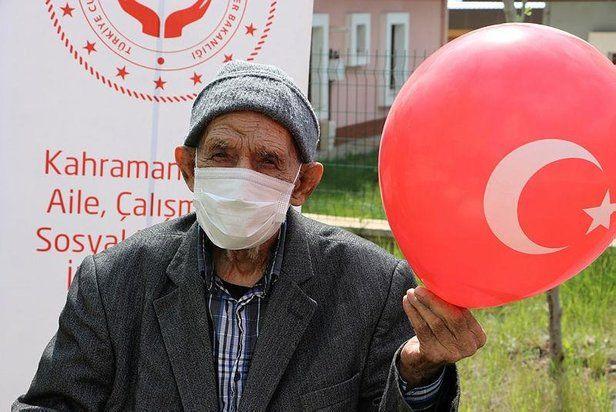Coronavirüs'ü yenen 101 yaşındaki Ömer Dinler: Devlet beni iki kere kurtardı