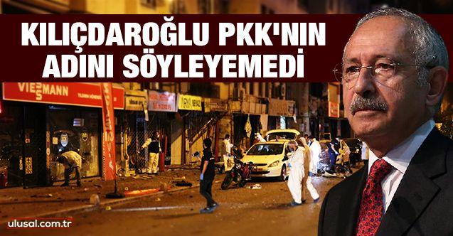 Kılıçdaroğlu PKK'nın adını söyleyemedi