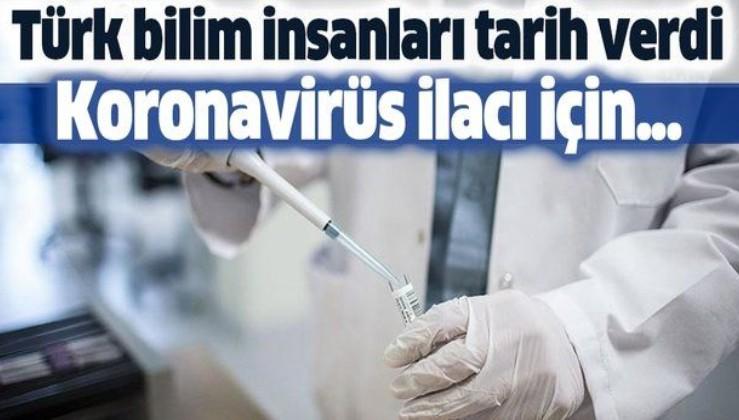 Türk bilim insanları koronavirüs ilacı için tarih verdi.