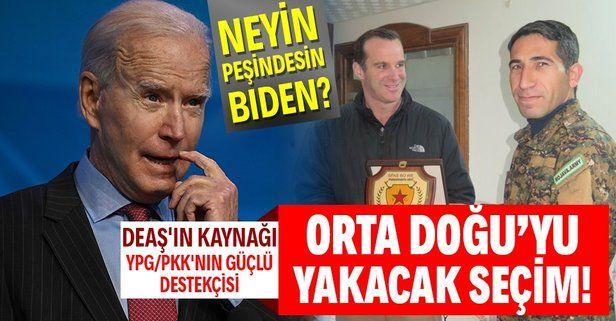 Joe Biden Orta Doğu Koordinatörlüğüne bölgedeki kaosun baş aktörlüğünü yapan McGurk'ü getirdi! İşte kirli sicili
