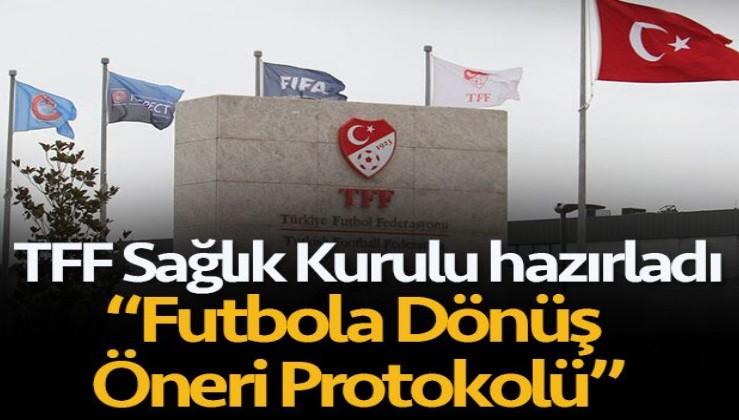 TFF Sağlık Kurulu 'Futbola Dönüş Öneri Protokolü'nü hazırladı