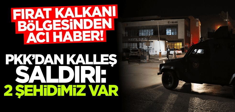 ABD karagücü PKK'dan kalleş saldırı: 2 polisimiz şehit oldu