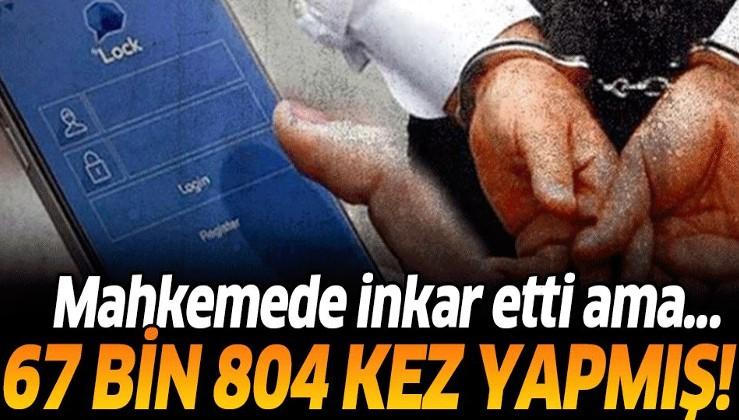 Tutuklu sanık Mustafa Şahin Altaş 67 bin 804 kez girdiği ByLock'u inkar etti.