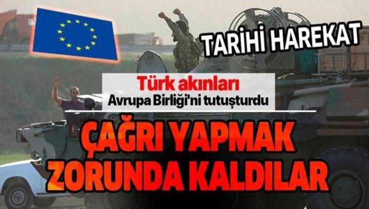Avrupa Birliği, Azerbaycan ve Ermenistan'a ateşkes çağrısı yaptı
