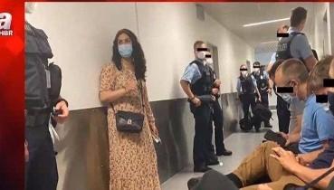 Düsseldorf Havalimanı'ndan Irak'a gitmek isteyen PKK destekçisi gruba Almanya'dan engel