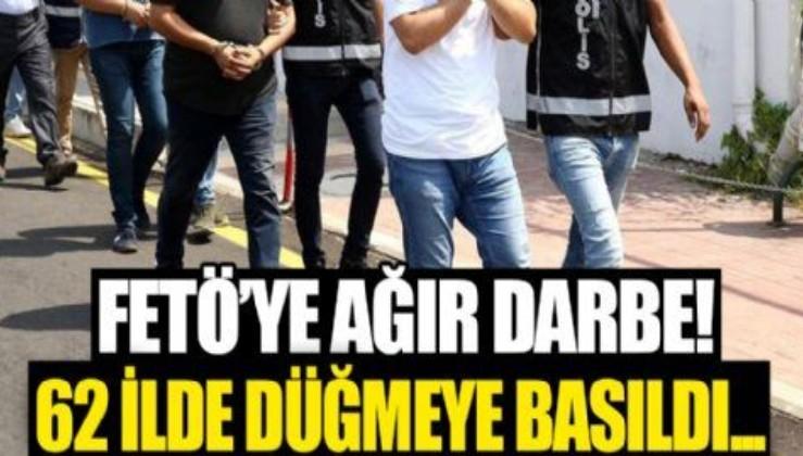 SON DAKİKA: İzmir merkezli 60 ilde FETÖ'ye dev operasyon: Çok sayıda gözaltı kararı var