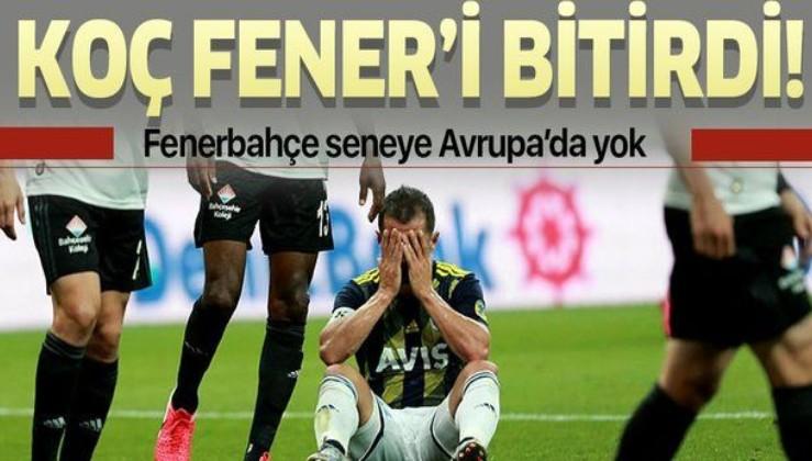 """""""Ali Koç Fenerbahçe'yi bitirdi"""""""