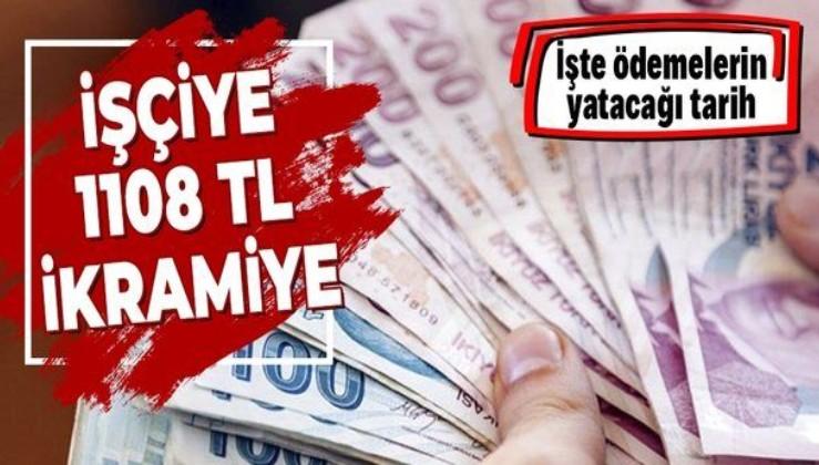 Kamu işçilerinin 26 günlük ilave tediyelerinin yarısı 29 Ocak'ta ödenecek! 500 bin işçiye en az 1108 TL!