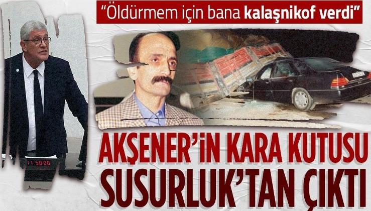 """""""Meral Akşener'in kara kutusu"""" Müsavat Dervişoğlu'nun """"Susurluk"""" dosyası açığa çıkıyor! Çete lideri ifşa etti"""