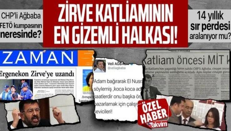 Zirve Yayınevi katliamındaki FETÖ izi tek tek deşifre oldu! 14 yıllık soru işareti: CHP'li Veli Ağbaba kumpasın neresinde?