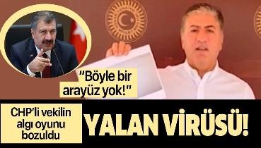 Sağlık Bakanı Fahrettin Koca'dan CHP Ankara Milletvekili Murat Emir'in 'koronavirüs' iddialarına net yanıtlar!