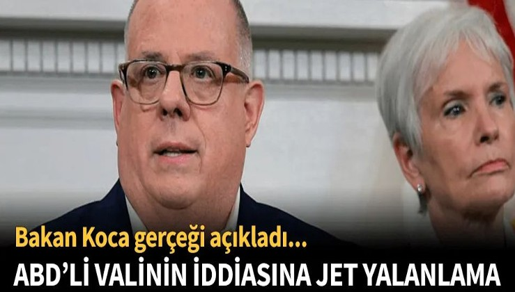ABD'li valinin Türkiye ile ilgili korona yalanı!