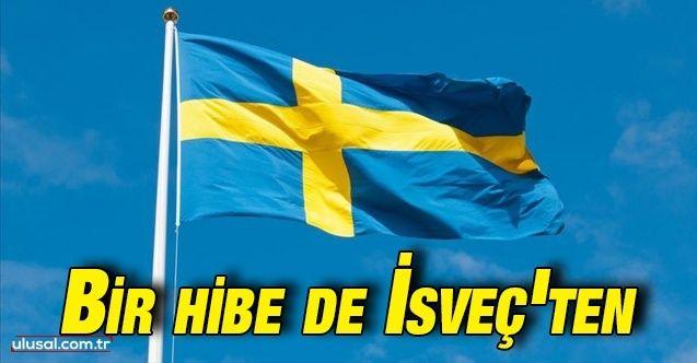 Bölücü faaliyetler yürüten basına bir hibe de İsveç'ten