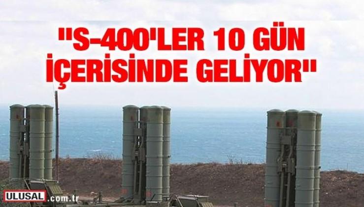 Cumhurbaşkanı Erdoğan: S-400'ler 10 gün içerisinde geliyor