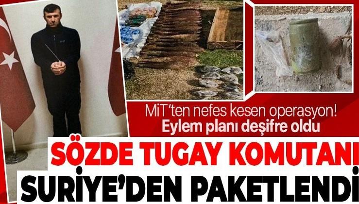 MİT, PYD/YPG'nin sözde tugay komutanı terörist İbrahim Babat'ı Suriye'de yakalayarak Türkiye'ye getirdi