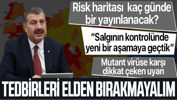 Sağlık Bakanı Fahrettin Koca'dan Bilim Kurulu toplantısının ardından yazılı açıklama: Tedbiri elden bırakmayalım