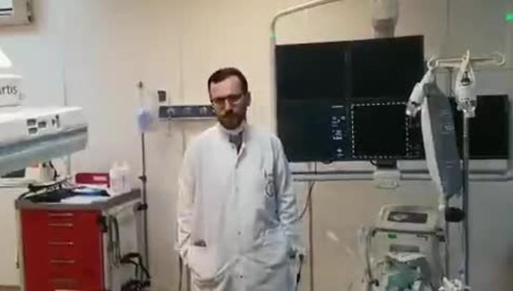 Sağlık çalışanlarından vatandaşlara Kovid-19'a karşı #EvdeKal çağrısı