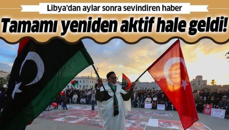 SON DAKİKA: Libya'dan flaş petrol açıklaması: Tamamı aktif hale geldi
