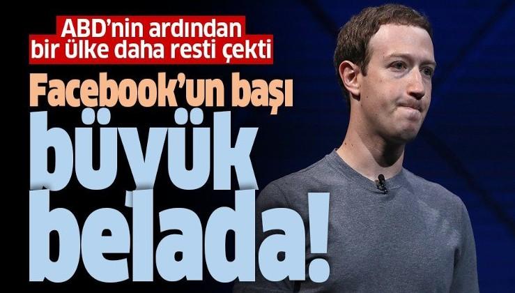 ABD'nin ardından Avustralya da Facebook'a dava açtı! Mark Zuckerberg'in başı büyük belada
