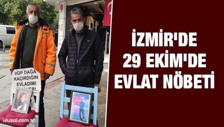 İzmir'de 29 Ekim'de Evlat Nöbeti