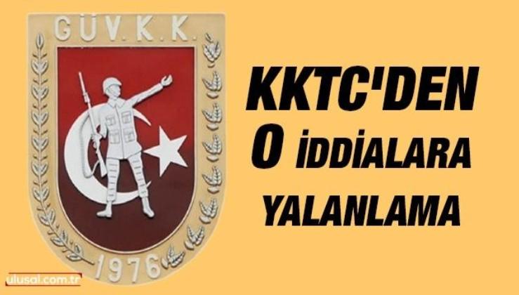 KKTC Güvenlik Kuvvetleri Komutanlığından o iddialara yalanlama