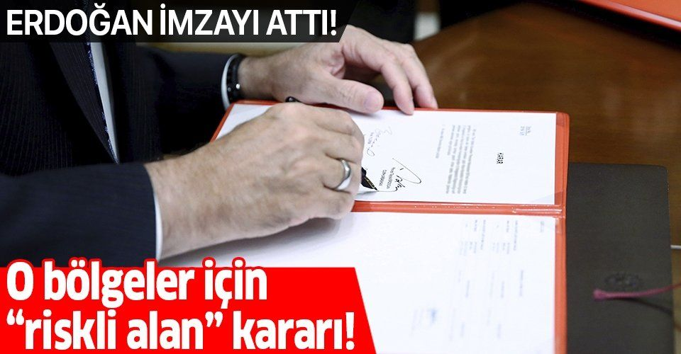 """Son dakika: Ankara'da bazı bölgeler """"riskli alan"""" ilan edildi!"""