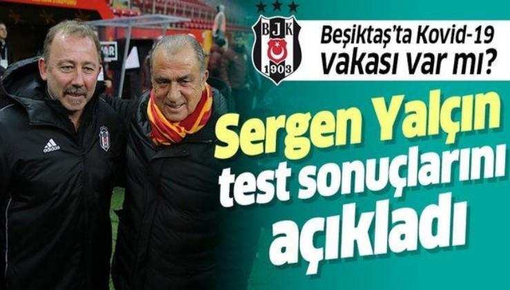 Son dakika: Beşiktaş'ta koronavirüs (Kovid-19) vakası var mı? Sergen Yalçın açıkladı: