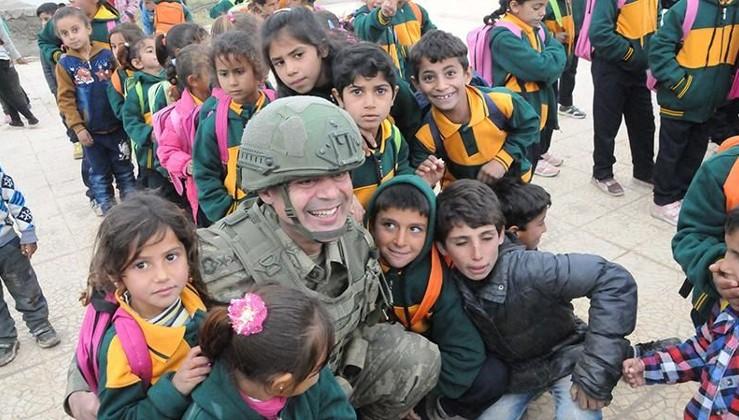 Tel Abyad'da ilkokul açıldı