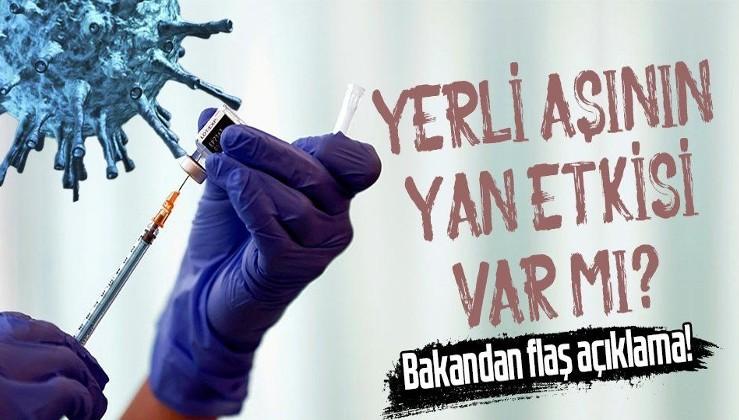 Yerli aşının yan etkisi var mı? Sanayi ve Teknoloji Bakanı Mustafa Varank merak edilen soruları yanıtladı