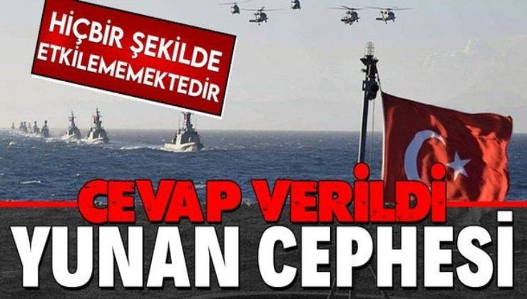 Yunanistan'ın tasarrufu Ege Denizi'ni etkilememektedir