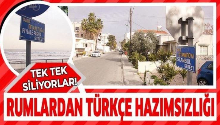 Rumlardan Türkçe hazımsızlığı! Tek tek siliyorlar!
