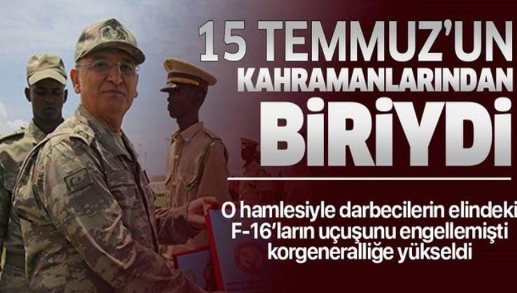 15 Temmuz'un kahramanlarındandı! Tümgeneral İrfan Özsert korgeneralliğe yükseldi.