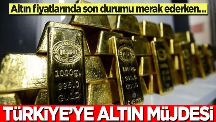 Altın fiyatlarını takip ederken altın üretimi gündeme geldi! Türkiye'den dev altın hamlesi