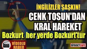 Cenk Tosun'dan Türklüğün simgesi 'bozkurt' işareti